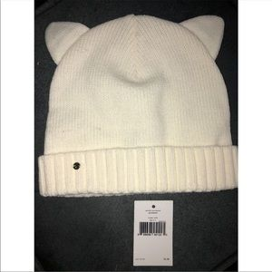 Kate spade cat ears winter hat